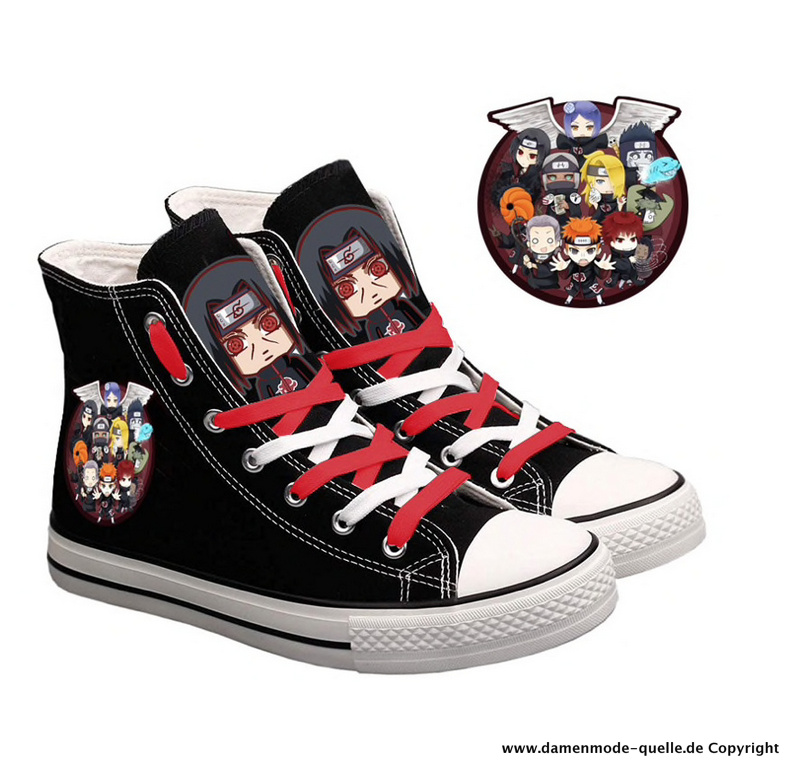 Cartoon Casual Print Chucks für Damen