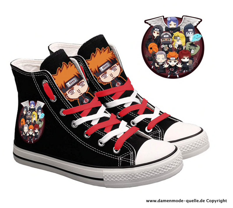 Cartoon Print Chucks für Damen