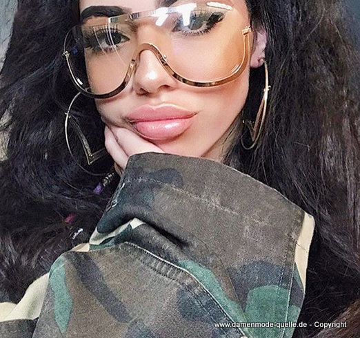 Sexy Coole Oversize Sonnenbrille 2020