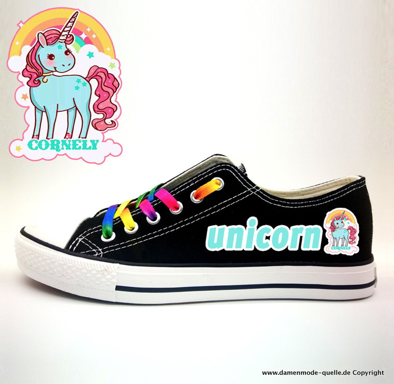Unicorn Print Chucks 2021 für Damen