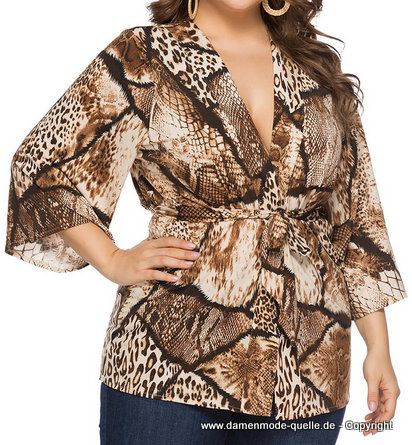 Plus Size Print Tunika 2020 bis 5XL