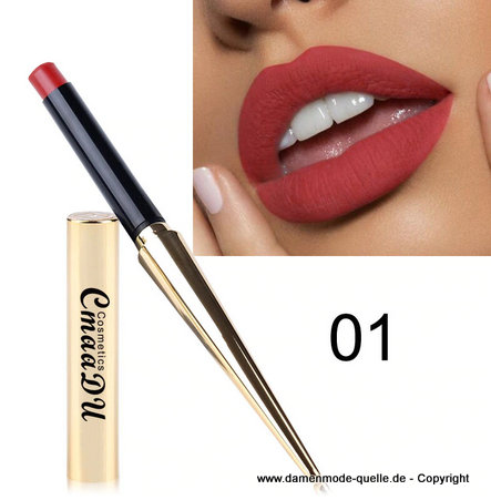 Wasserdichte  Lippenstift - Make-Up 01