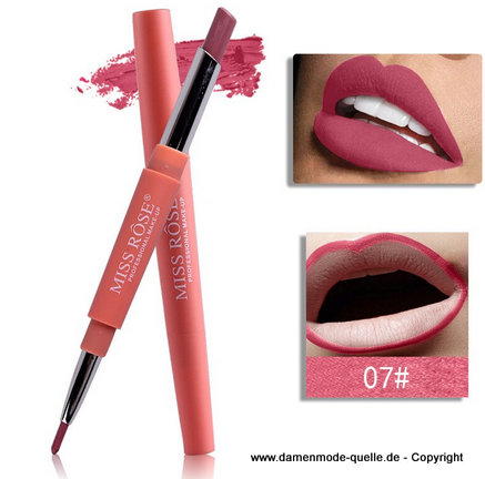 Wasserdichte Make-Up Lippenstift - Lip Stick Stift 07