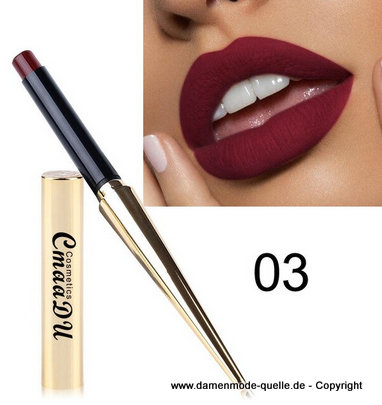 Wasserdichte  Lippenstift - Make-Up 03