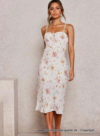 Kleider 2021 | Spaghettiträger Chiffon Sommerkleid 2020 ...