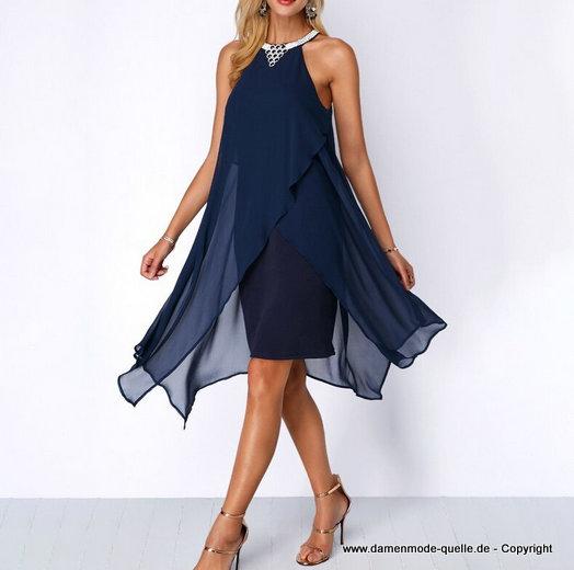 kleider 2021  elegantes plus size chiffon kleid 2020 in