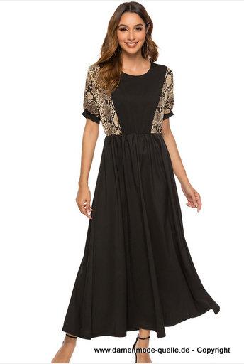 - Kleider 2020 | Snake Print Maxi Sommer Kleid 2020 ...