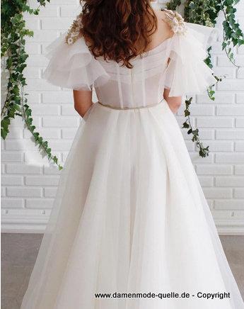 - Kleider 2020 | Weißes Prinzessinen Kleid für den ...