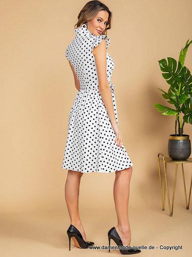 Kleider 2021 | A Linie Sommerkleid Knielang mit Vintage ...