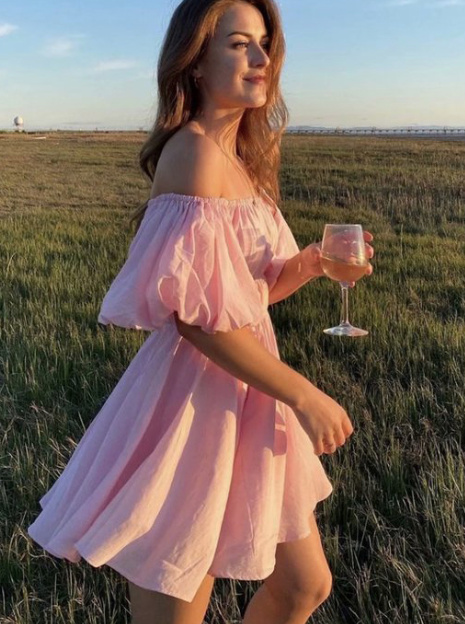 Kleider 2021 Schulterfreies Damen Sommerkleid Kurz Elegant Damenmode Gunstig Online Kaufen
